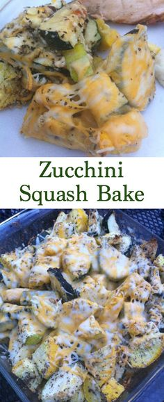 Super Easy Zucchini Squash Bake Are you tired of the same old squash casserole recipes? If you're looking for easy summer side dishes then look no further than this Zucchini Squash Bake. Not only is it easy and healthy but it's yummy too. Grab your yellow Zucchini Squash Bake, Baked Squash And Zucchini Recipes, Summer Squash Recipes, Zucchini Casserole, Easy Squash Casserole, Easy Squash Recipes, Yellow Zucchini Recipes, Baked Yellow Squash, Roasted Zuchinni And Squash