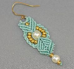 Micro Macrame Earring Patterns | Micro-Macramé: KnotGypsy – Cool Earrings, Free Lessons