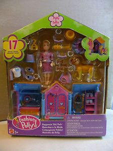 fashion polly 2001 | 2001 Mattel Polly Pocket Happenin' Pet Pals 17 pieces Fashion Polly ...