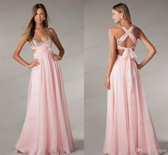 Wholesale Long Prom Dresses - Buy Cheap Sexy Long Prom Dresses Uk 2014 Under 100 Sweetheart A Line Sequins Beaded Bust Open Back Side Cut Outs Chiffon Party Dress By Olesa, $58.42 | DHgate