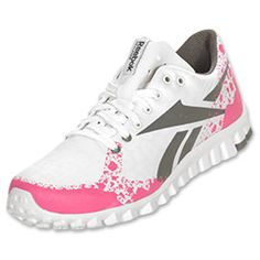 Women's Reebok RealFlex Cool Running Shoes. I have these and they are BY FAR the BEST running shoes I've ever owned! Light and comfy, I wear them to the gym, too! They're amazing.