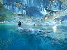 Marble Cathedral, Catedral de Marmol, #Patagonia #Marblecathedral #catedraldemarmol