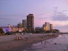 Bocagrande and Laguito Beach, Cartagena, Colombia