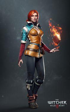 Triss Merigold - Witcher II