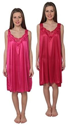 1be2269307 Beverly Rock Women s Tricot Sleeveless Long Nightgown at Amazon Women s  Clothing store