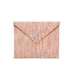 Pochette iPad - tissu Liberty Milla