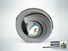 Amouage Surf Magazine