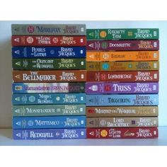The Redwall Series by Brian Jacques all 23