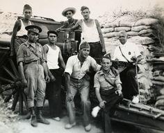 Spain - 1937. - GC - Batallón de los Morteros en el Frente de Somosierra.