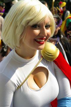 Best power girl cosplay
