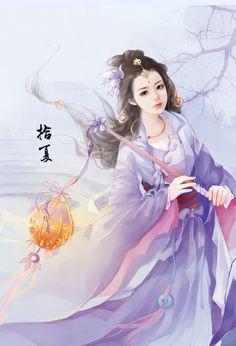 ผลการค้นหารูปภาพสำหรับ shall seal the heavens Art Asiatique, Art Japonais, Beautiful Fantasy Art, Art Anime, Painting Of Girl, Painting Art, China Art, Creative Pictures, Human Art