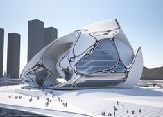 Busan Opera House Design Proposal by EMERGENT Architecture