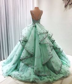 Tips for quinceanera dresses: You will discover from speaking with them what the next fashion using this method. This will likely help you stay prepared with great fashion sense and timing. Ball Gown Dresses, 15 Dresses, Pretty Dresses, Fashion Dresses, Formal Dresses, Pageant Dresses, Quince Dresses, Fantasy Dress, Quinceanera Dresses