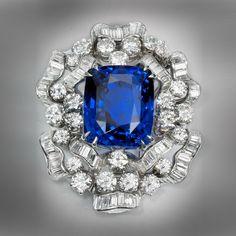 Bulgari.Natural Burmese Sapphire& Diamond Pendant.Copyright 2011 byKathryn Bonanno