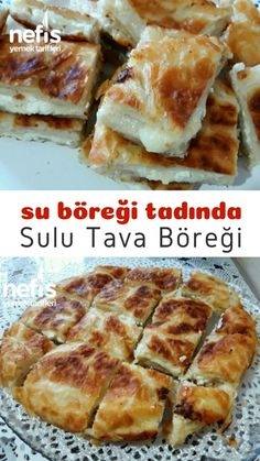Sulu Tava Böreği (Su Böreği Tadında) – Nefis Yemek Tarifleri How to make a juicy pan pastry (savory)? Illustrated explanation of this recipe and photographs of those who try it are here in the book of people. Pastry Recipes, Cookie Recipes, Dessert Recipes, Yummy Recipes, Gourmet Breakfast, Best Breakfast Recipes, Good Food, Yummy Food, Wie Macht Man