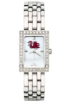 South Carolina Gamecocks Women's Allure Watch with Stainless Steel Bracelet