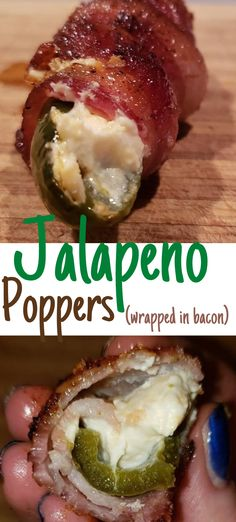 Jalapeno Poppers wrapped in crispy bacon, these Texas twinkies are SO delicious! Bacon, jalapenos, cream cheese, cheddar cheese, some spices, AND some sweet stuff, make this a go-to appetizer for any party or gettogether! #jalapeno #jalapenos #jalapenopoppers #jalapenopopper #texastwinkies #baconwrapped #bacon #creamcheese #spicy #sweet #smoked #grilling #recipes #appetizers #appetizer #foodie #cheese Grilling Recipes, Keto Recipes, Healthy Recipes, Yummy Appetizers, Appetizer Recipes, Bacon Wrapped Jalapenos, 15 Minute Meals, Juice Fast, Jalapeno Poppers