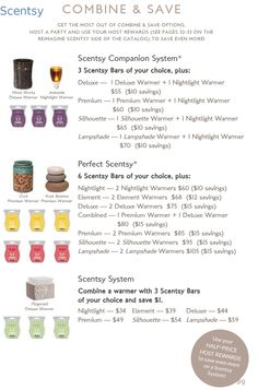 Scentsy 2015 Fall/Winter Combine and Save for Half-Price Scentsy Companion System and Perfect Scentsy and Scentsy System https://bridgetneiman.scentsy.us