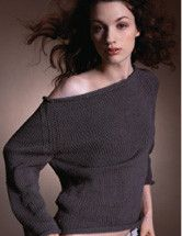 Boatneck Sweater For Ravelry Edit by Briana E., via Flickr