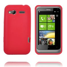 Soft Shell (Rød) HTC Radar Deksel
