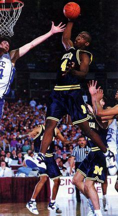 Fab Five (Chris Webber) Ohio State Basketball, Basketball Is Life, Basketball Legends, College Basketball, Basketball Players, Basketball Hoop, Basketball Skills, Ncaa College, Basketball Games Online