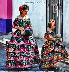 Hispanic (Mexican) Cultural Dresses for Women & Girls