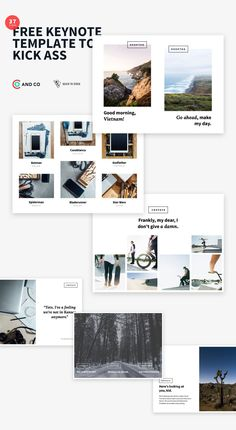 The Deck Stack – Free Keynote Templates Free Keynote Template, Blade Runner, Presentation Templates, Free Design, Deck, Layouts, Daisies, Front Porches, Decks