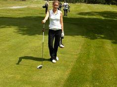 @CharLouJackson at GQ Golf Day