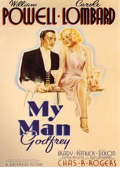 """My Man Godfrey"", screwball comedy by Gregory La Cava (USA, 1936)"