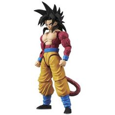 Dragon Ball Z - Super Saiyajins IV Son Goku Figurine articulée Standard