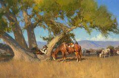 Bill Anton painting