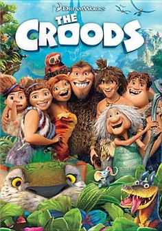 The Croods is a prehistoric comedy adventure that follows the world's first family as they embark on a journey of a lifetime when the cave that has always shielded them from danger is destroyed. (PG)