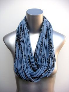 Infinity Loop Scarf Circle Eternity Winter  Organic    by necklush