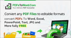 If you are looking for the best options to convert PDF to Word online then PDFsToWord. Here you can convert your document from PDF to editable text and Word completely free. This website has 28 different document converters. Word Online, Microsoft Word, Your Word, It's Easy, Ranges, As You Like, Texts, Pdf, How To Get