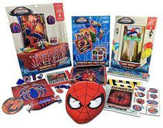 Spiderman Party Supplies for 8 Marvel…