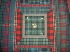 tartans quilt ~ #plaid #quilts #scottish