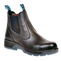 """Blue Tongue Boots (BTGBTCST10) Black 6"""" Slip On Composite Toe Safety Boot, Size 10 by Blue Tongue Boots. $93.95. 100% Full Grain Leather ASTM Certified Composite Safety Toe Oil/ Acid/ Slip Resistant TPU Soles Puncture Resistant LENZI footbed Electrical Hazard Rated  Here's a classic 6'' slip on designed boot with variable functionality to fit all job needs. This boot features a 100% full grain leather upper and a leather lined inside for full comfort. A l..."""