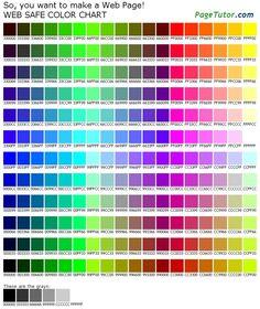 Colors Pics  Google Search  Color    Colour Chart
