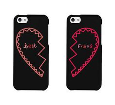 Best Friends Matching Phone Cases - iphone 4 5 5C 6 6+, Galaxy S3 S4 S5, M8, G3
