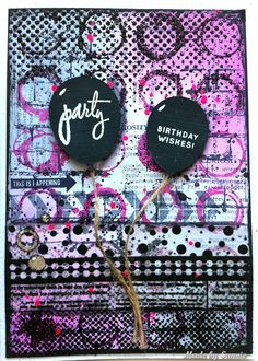 Made by Sannie: Emboss it card with video tutorial