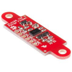 SparkFun ToF Range Finder Sensor - VL6180 - so many uses, but wanted to do that high-res auto-lighting for A/V cabinet based on proximity...  $25