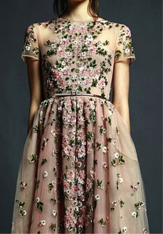 so inspired by this valentino dress