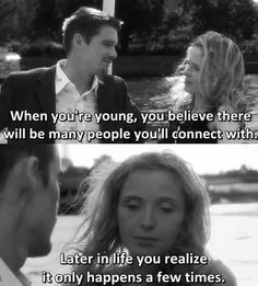 - Julie Delpy in Before Sunset Famous Movie Quotes, Quotes By Famous People, Film Quotes, People Quotes, Lyric Quotes, Quotes Quotes, Before Sunrise Trilogy, Before Trilogy, Before Sunrise Quotes