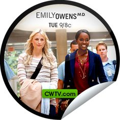 Emily Owens, M.D.: Emily and... The Alan Zolman Incident The Cw, Stickers, The Originals, Decals