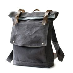 The Backpack in Gunmetal Gray from Moop