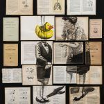 Fragmented Ink Paintings on Arrays of Vintage Books by Ekaterina Panikanova Ink Paintings, Colossal Art, Vintage Books, Art Education, Book Art, Art Projects, Culture, Drawings, Artworks