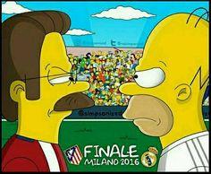 -  LLEGÓ EL DÍA! / CAME THE DAY!  #Final  #AtleticoMadrid #RealMadrid #UEFAChampionsLeague