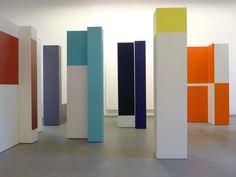 elizabeth jobim, blocos, 2013 | vista da exposição no mam-rj