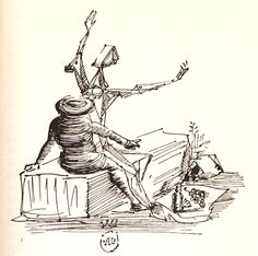 Salvador Dalí Illustrates Don Quixote http://www.brainpickings.org/index.php/2013/10/09/salvador-dali-illustrates-don-quixote/