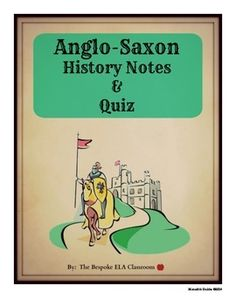 No study of Beowulf is complete without also studying the life and times of the Anglo-Saxons. This listing includes Anglo-Saxon history notes and a quiz with the answer key included!   These two handouts are included in my MEGA Beowulf Bundle with 25 lessons and activities to take your Beowulf unit to the next level!